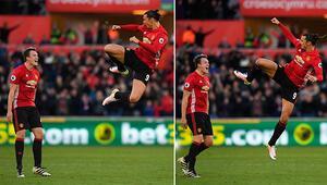 Zlatan İbrahimovic Premier Lig tarihine geçti