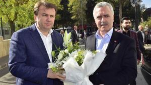 Ak Parti heyetinden Başkan Erkoça ziyaret