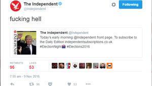 İngiliz basınından önde gelen gazetesinden Donald Trumpa küfürlü tweet