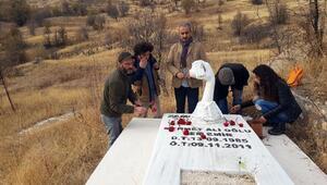Ölümünün 5inci yılında Cem Emir ve Sebahattin Yılmaz mezarları başında anıldı