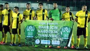 Kiliste Yeşil sahada barış için kardeşlik turnuvası