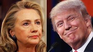 Clinton, ABD seçimlerinde ülke çapında daha fazla oy aldı ama...