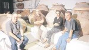 Beş kafadarın zeytin müzesi
