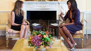 First ladyler Beyaz Sarayda bir araya geldi, kıyafetlerinde birçok detay gizliydi