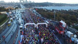 (Ek bilgi ve fotoğraflarla) - 38. Vodafone İstanbul Maratonu başladı