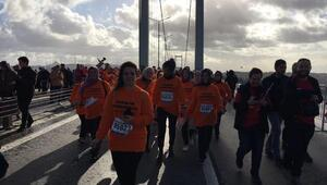 AK Partinin İzmirli kadınları maraton koştu