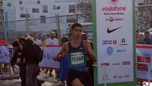 İstanbul Maratonunda üçüncü oldu
