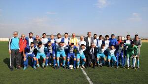 İslahiyede Suriyeliler ile kardeşlik maçı