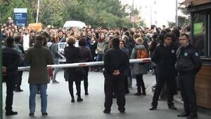 Boğaziçi Üniversitesinde Rektör Eyleminde gerginlik (2)