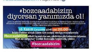 Ata Demirerden, Bozcaada koylarına destek mesajı