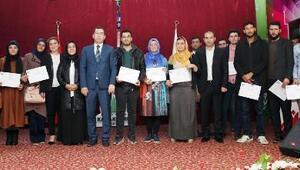 Genç girişimcilere sertifika