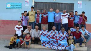 Bu köyde herkes Trabzonsporlu