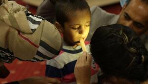 261 Suriyeli yetime sağlık taraması yapıldı