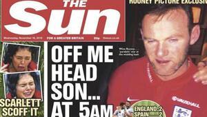 Rooneynin alkollü görüntüleri federasyonun sabrını taşırdı