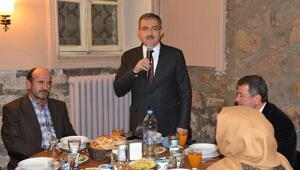 S.Ü. Rektörü Prof. Dr. Şahin, şehit yakınlarını ağırladı