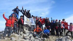 Ankara Doğa Sporları Platformu Elmadağda zirve yaptı