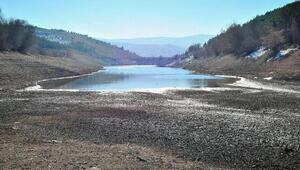 Göletlerde su seviyesi düştü