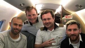 Messi de düşen o uçak ile yolculuk etmişti