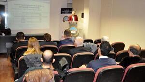 Zonguldakta madenlerde iş sağlığı projesi toplantısı