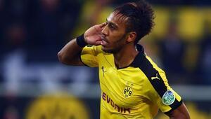 Dortmund, Auba ile Mgladbachı yıktı..