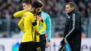 Nuri Şahinden Dortmunda kötü haber geldi