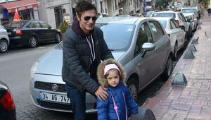 Teoman, hafta sonunu kızı Zeyno'yla geçirdi