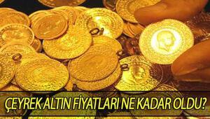 Çeyrek altın fiyatları düşüyor.. İşte altın fiyatlarında son durum