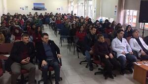 Rize'de lise öğrencilerine Sigara Bağımlığı konferansı