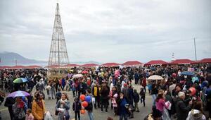 Alanyada Uluslararası Noel Pazarı kuruldu