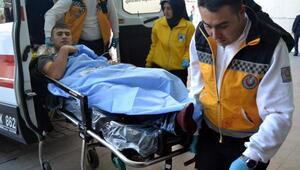 Gençlerin yan bakma kavgası hastanede son buldu