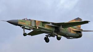 Suriyede savaş uçağı düştü