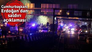 Cumhurbaşkanı Erdoğandan saldırı açıklaması