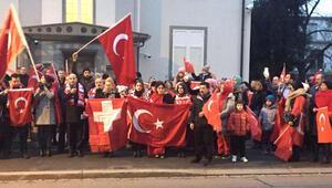 Avrupalı Türkler hain saldırıyı protesto etti