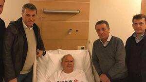 Beşiktaş Kulübünden geçmiş olsun ziyareti