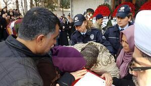 Şehit polisi Sinopta 10 bin kişi uğurladı