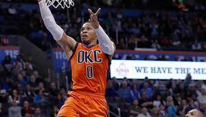 Westbrookun triple double serisi bitti