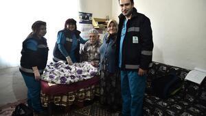 7 bin kişiye evde sağlık hizmeti