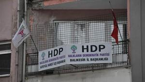 Balıkesirde HDPye operasyon