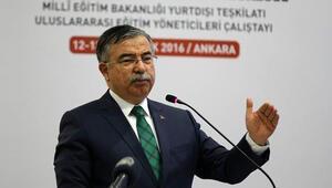 Milli Eğitim Bakanı Yılmaz:Türkiye Maarif Vakfı Bakanlığın yurtdışındaki eli