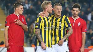 UEFA Avrupa Liginde sürpriz Kjaer...