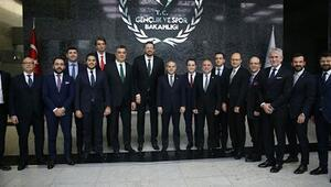 Türkiye Basketbol Federasyonu, Bakan Kılıçı ziyaret etti