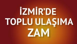 İzmirde ulaşıma yüzde 8.33 zam