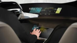 BMWden sanal dokunmatik ekran konsepti