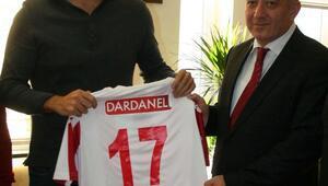 Dardanelspor yönetiminden Emniyet Müdürü Sele ziyaret