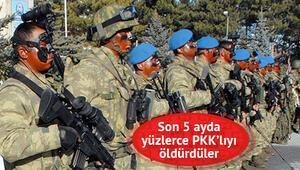 PKKnın korkulu rüyası mavi bereliler hedef alındı