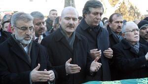 Bakanlar cenaze namazına katıldı