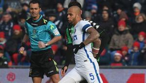 Melo atıldı Inter kazandı