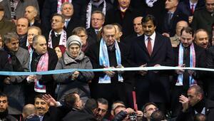 Trabzonsporun yeni stadı açıldı, Fenerbahçe mesaj yolladı