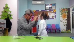 Nezaket Okulu öğrencilerine sağlık taraması