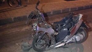 Evli çift motosiklet kazasında hayatını kaybetti